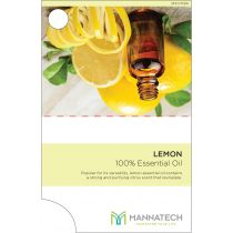 Lemon Essential Oil Sample Cards
