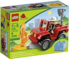 DOMINIK Lego Duplo 6169 Velitel hasičů - POKUD BY K TOMU BYLO I VELKÁ SADA HASIČSKÉ AUTO, SAMOTNÉ NEMÁ SMYSL