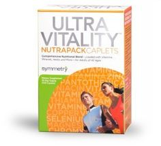 #Symmetry Ultra Vitality #NutraPack: Symmetry's Ultra Vitality NutraPack is a powerful, comprehensive multivitamin that is loaded with a wide array of the most important vitamins and minerals for proper nourishment and protection the body needs to survive. It is developed for adults of all ages, supported by over 500 clinical studies and state of the art techniques to insure the best, and most scientifically advanced supplement on the market. Symmetry Direct ...