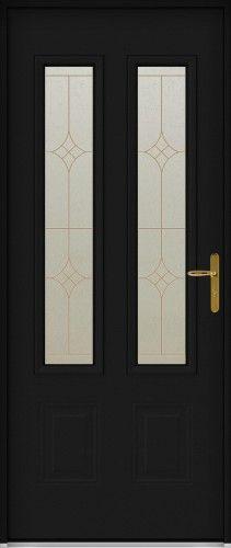 Flavie porte d 39 entr e aluminium classique mi vitr e porte d 39 entr e pinterest entrance doors - Porte entree aluminium vitree ...