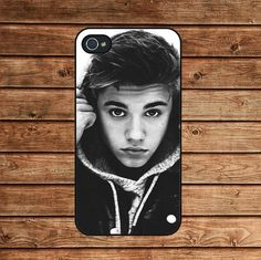 iphone 4 case,iphone 4s case,iphone 4 cover--Justin Bieber,in plastic or silicone case by tomes8899, $12.99