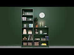 Måla om laminatmöbler - YouTube Bookcase, Shelves, Youtube, Home Decor, Dining Rooms, Shelving, Decoration Home, Room Decor, Book Shelves