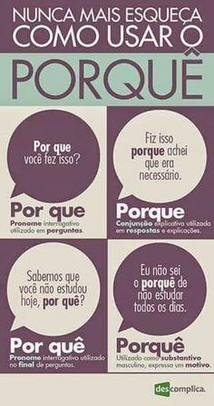 Mais um assunto já discutido nas dicas de português do Periscope.: