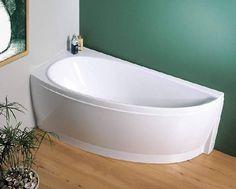 Ravak Avocado Corner Bath 160x75cm Left
