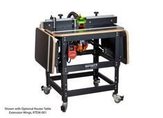 Router Table Package with HP Router & Plycore Router Top Router Table Insert, Router Table Fence, Raised Panel Router Bits, Dust Collection Hose, Router Plate, Best Router, Table Shelves, Extruded Aluminum, Work Tools