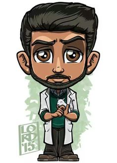Ravi from IZombie by Lord Mesa