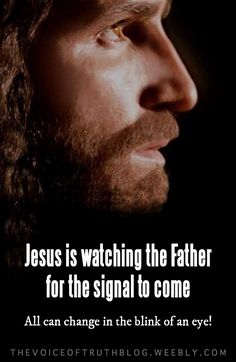"""Mark """"But about that day or hour no one knows, not even the angels in heaven, nor the Son, but only the Father. Be on guard! Be alert! You do not know when that time will come. King Jesus, Lord And Savior, Praying In The Spirit, Jesus Christ Images, Jesus Is Coming, Blink Of An Eye, Angels In Heaven, Walk By Faith, Son Of God"""