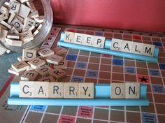 scrabble letters idea