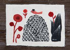 Appliqué illustrations by Mika Hirasa
