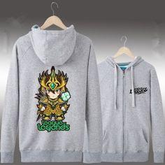 Cheap hooded sweatshirts League of Legends theme for men to wear Miss Fortune, League Of Legends, Hooded Sweatshirts, Hoodies, Manga, Blue Grey, Graphic Sweatshirt, Brazil, Sweaters