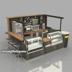 Source solid wood mall coffee kiosk design / juice bar / bubble tea kiosk f. - Source solid wood mall coffee kiosk design / juice bar / bubble tea kiosk for shopping mall on - Kiosk Design, Bakery Shop Design, Small Restaurant Design, Small Cafe Design, Restaurant Interior Design, Modern Restaurant, Coffee Shop Counter, Coffee Shop Bar, Cafe Bar Counter