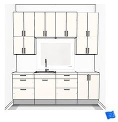 1000 images about kitchen annd cabinet basics on for Basic kitchen wall units