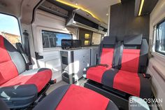 Fiat Ducato Custom Camper by Bimbos Van . A Custom Van Conversion adapted to our customer needs, with 4 seats traveling and sleeping. Ducato Camper, Fiat Ducato, Van Conversion Interior, Camper Conversion, Motorhome, Custom Campers, Camper Caravan, Camper Makeover, Rv Interior