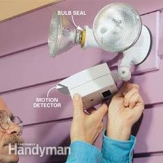 How to Choose and Install Motion Detector Lighting Automatic night lighting when and where you need it.