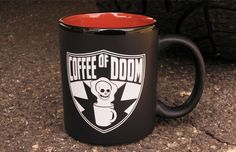 Is it weird that I want this to drink Chai out of...??       TopatoCo: Coffee of Doom Mug