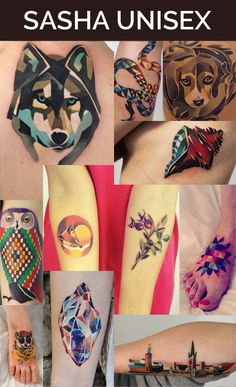 SASHA UNISEX - My Favorite Tattoo Artist. I want her to do a tattoo for me soooooooo bad!!!!!