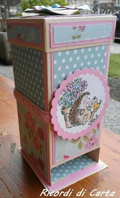 Arte Country, Tea Box, Candy Boxes, Craft Fairs, Toy Chest, Decorative Boxes, Craft Ideas, Drawings, Cards