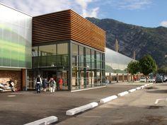 Centro Comercial Carrefour. Francia  Danpalon 16mm