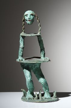 Marlene Steyn, 'Head-and Ponytails' Patinated Bronze, 31 x 13 x Pent House, New Art, Ponytail, Contemporary Art, Lion Sculpture, Bronze, Statue, Portrait, Painting