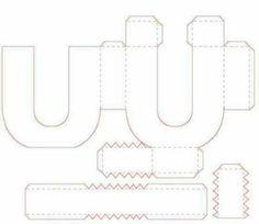 Resultado de imagen para letras 3d para imprimir gratis letras 3d letters box templates silhouette cameo paper art paper crafts 3d alfabeto kid crafts paper cutting cutting files spiritdancerdesigns Gallery