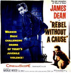 Rebellious teens of the '50's..James Dean..good stuff