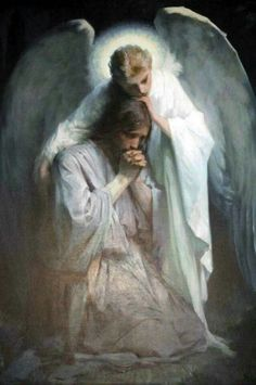 Jesus' guardian angel comforting Him as he prays Catholic Art, Religious Art, Agony In The Garden, Image Jesus, Faith Scripture, Bible Forgiveness, Pictures Of Jesus Christ, Jesus Painting, Paintings Of Christ