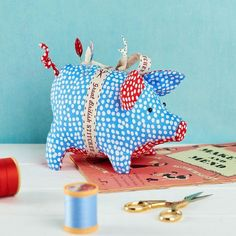 Piggy Pincushion free pattern