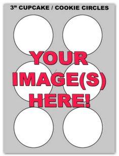 Memphis Grizzlies Edible Image Cake Topper - 3 Circles-6 Circles
