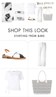 """""""is unique"""" by jofrebcn ❤ liked on Polyvore featuring Robert Clergerie, Yves Saint Laurent and Givenchy"""