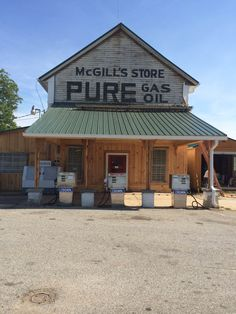 McGill's Store   Clover South Carolina  Everything you need.  (under restoration)