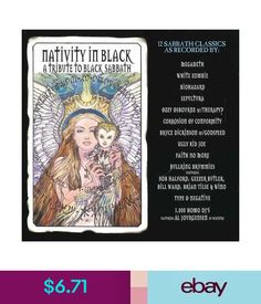 Nativity in black full album youtube black sabath pinterest 825 various artists nativity in black tribute to black sabbath cd ebay malvernweather Images