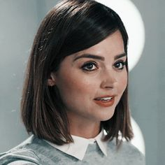 Madeline Smith, Doctor Who Clara, Clara Oswald, Jenna Coleman, Iconic Movies, Dr Who, Face Claims, Hair Cuts, Beautiful Women