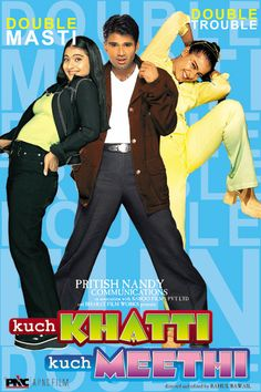 What if out of the blue, one encounters a look alike who, as it turns out, is nothing less than a twin? Well, it would be an experience. A little sour, a little sweet, quite like Tina and Sweety.  Kuch Khatti Kuch Meethi is an entertaining narrative of simple lives in complex situations. An endearing family film.