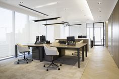 Office Furniture Ideas : Private Office – Dubai – Office Snapshots -Read More – Corporate Office Design, Dental Office Design, Corporate Interiors, Office Interiors, Office Designs, Office Ideas, Interior Design Career, Interior Design Dubai, Office Lounge