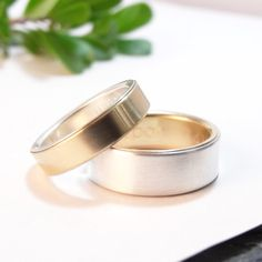 wedding bands womens wedding band set mens by DownToTheWireDesigns