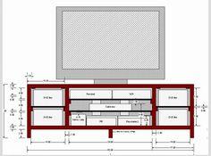 Muebles para TV de pantalla plana | Ideas - DecoraHOY