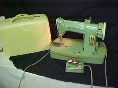 Singer Portable Sewing Machine Model 185K