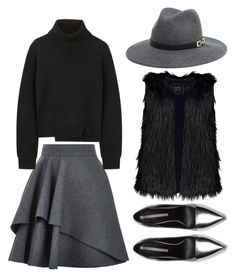 """""""246"""" by placebopill ❤ liked on Polyvore featuring Alexander McQueen, Bebe, Proenza Schouler and Zara"""