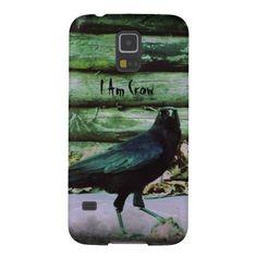 I Am Crow - Green Galaxy S5 Case