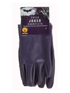 Check out Kids The Joker Gloves - Childs Batman Accessories from Costume Super Center