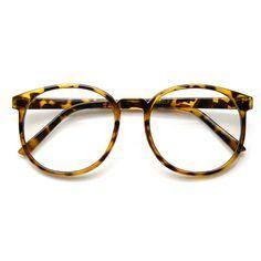 0eb2b24e450 Vintage Inspired Dapper Round Clear Lens P-3 Glasses 2891
