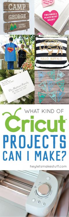If you're new to the Cricut Explore, you might be wondering what kind of Cricut Explore projects are possible. Today I'm sharing a bunch of different projects you can make on this amazing electronic cutting machine!