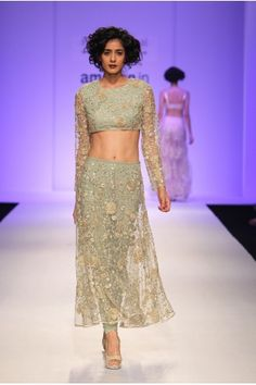 Payal Singhal Indian Wear Collection : NANETTE CHURIDAR SKIRT SET
