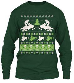 Snowmobile Christmas | Teespring The ultimate shirt for the snowmobile club's Christmas party