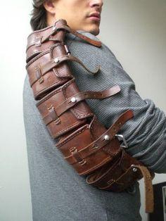 Vintage military leather