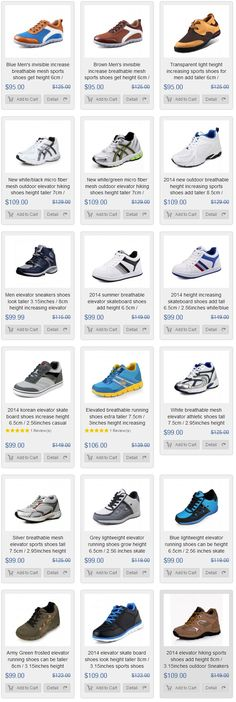 latest men height increasing elevator sports shoes from topoutshoes online store