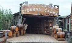 kleines Restaurant am Fluß, Ada Bojana - Foto: S. Hopp