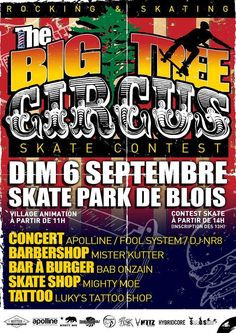 The Big Tree Circus - Ville de Blois #blois #2015