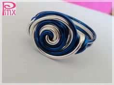 ~ Pinx ~ Cute as a Button Blueberry Ring: http://www.outbid.com/auctions/9167-handmade-haven-5#37
