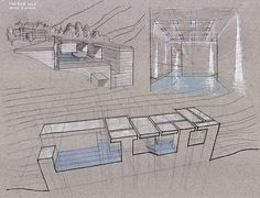 Zumthor's Therme Vals Analysis on Behance